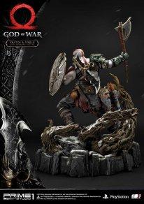God of War figurine statuette Prime 1 Studio Kratos Atreus 60 17 11 2019