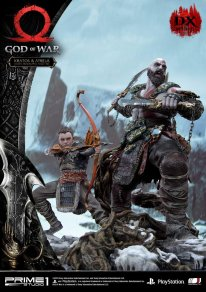 God of War figurine statuette Prime 1 Studio Kratos Atreus Deluxe 10 17 11 2019