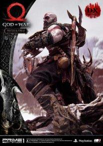God of War figurine statuette Prime 1 Studio Kratos Atreus Deluxe 12 17 11 2019