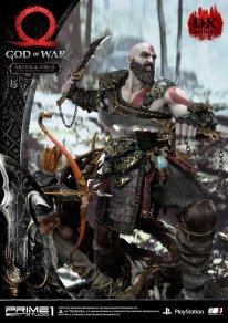 God of War figurine statuette Prime 1 Studio Kratos Atreus Deluxe 14 17 11 2019