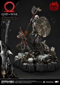God of War figurine statuette Prime 1 Studio Kratos Atreus Deluxe 15 17 11 2019