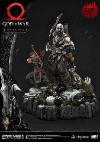 God of War figurine statuette Prime 1 Studio Kratos Atreus Deluxe 18 17 11 2019
