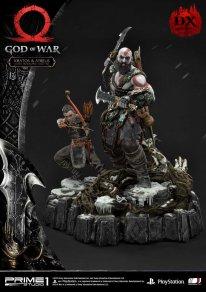 God of War figurine statuette Prime 1 Studio Kratos Atreus Deluxe 19 17 11 2019