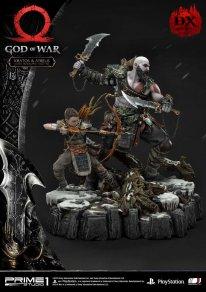 God of War figurine statuette Prime 1 Studio Kratos Atreus Deluxe 20 17 11 2019