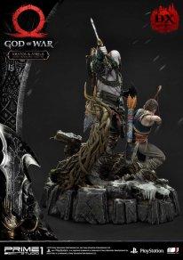 God of War figurine statuette Prime 1 Studio Kratos Atreus Deluxe 21 17 11 2019
