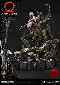 God of War figurine statuette Prime 1 Studio Kratos Atreus Deluxe 22 17 11 2019