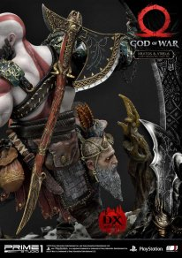 God of War figurine statuette Prime 1 Studio Kratos Atreus Deluxe 23 17 11 2019
