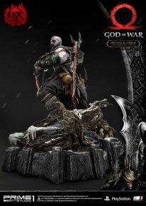 God of War figurine statuette Prime 1 Studio Kratos Atreus Deluxe 24 17 11 2019