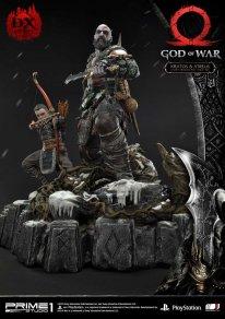 God of War figurine statuette Prime 1 Studio Kratos Atreus Deluxe 25 17 11 2019