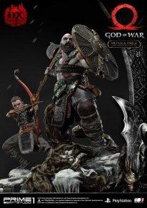 God of War figurine statuette Prime 1 Studio Kratos Atreus Deluxe 28 17 11 2019