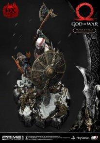 God of War figurine statuette Prime 1 Studio Kratos Atreus Deluxe 29 17 11 2019