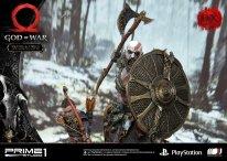 God of War figurine statuette Prime 1 Studio Kratos Atreus Deluxe 36 17 11 2019