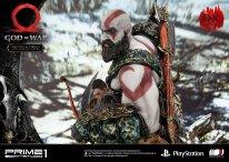 God of War figurine statuette Prime 1 Studio Kratos Atreus Deluxe 38 17 11 2019
