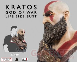 God of War Kratos buste 60 20 04 2020