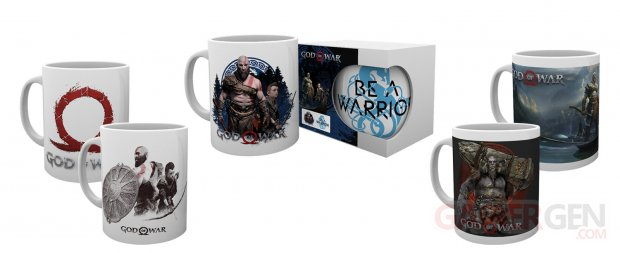 God of War PlayStation Gear (4)