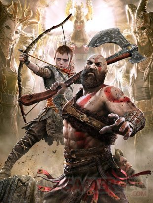 God of War poster Valkyrie 20 04 2020