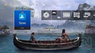 God of War thème dynamique PS4 15 04 2019