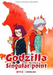 Godzilla Singular Point Netflix 27 10 2020 poster
