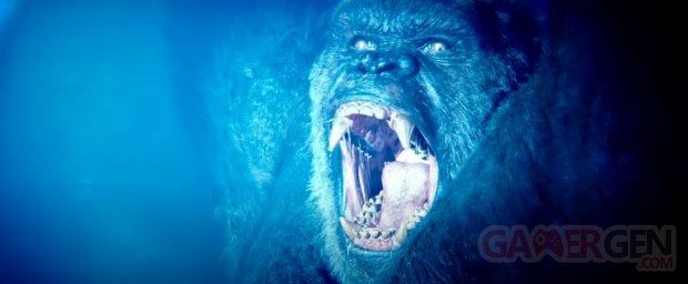 Godzilla vs Kong head