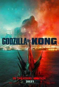 Godzilla vs Kong poster 2021 affiche