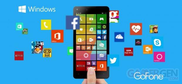 Gofone first handset windows