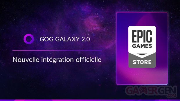 GOG Galaxy 2 Epic Games Store