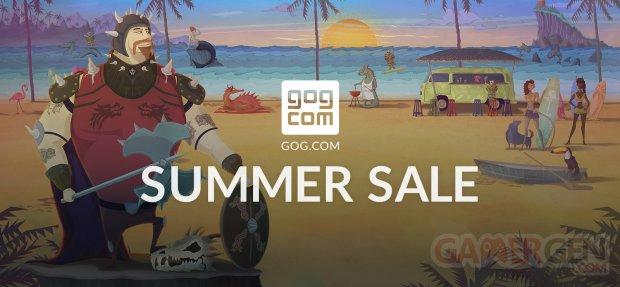 GOG Quête Vacances SOLDES Summer Sale