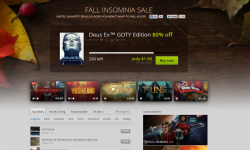 good old games fall sales 2013