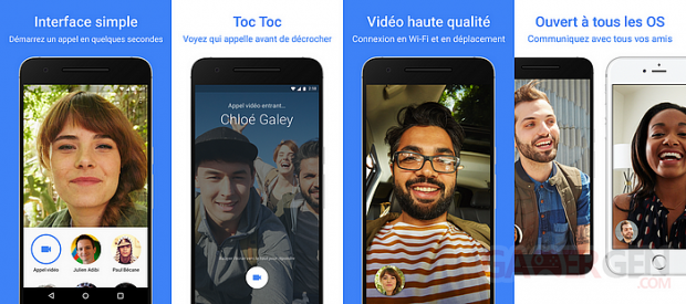Google Duo fonctionnalites visu Google Play