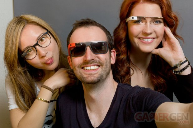 Google Glass prescription and shades