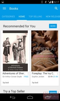 google play store 5 0 screenshot livres