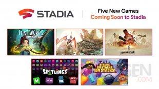 Google Stadia 13 02 2020 nouveaux jeux