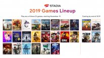 Google Stadia line up lancement 18 11 2019
