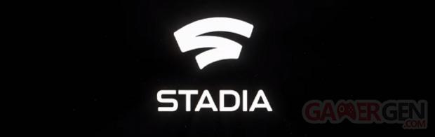 Google Stadia logo head banner