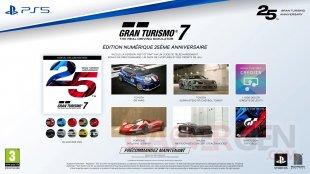Gran Turismo 7 Édition 25e Anniversaire Deluxe Numérique
