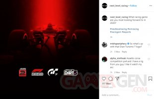 Gran Turismo 7 logo Next Level Racing Instagram 21 05 2020