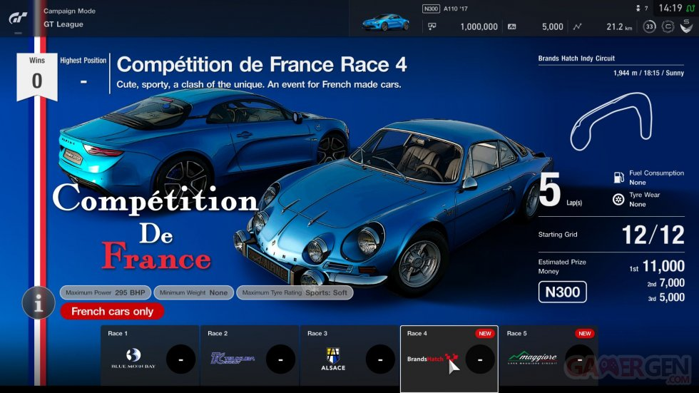 Gran Turismo Sport mise a jour update 1.38 images (8)