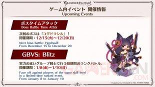 Granblue Fantasy Versus 11 13 12 2020