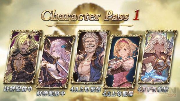 Granblue Fantasy Versus Character Pass 1 08 03 2020