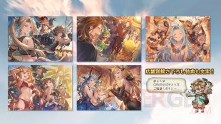 Granblue Fantasy Versus illustrations bonus 13 10 2019