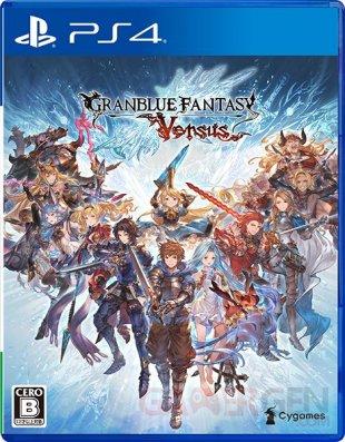 Granblue Fantasy Versus jaquette 13 10 2019