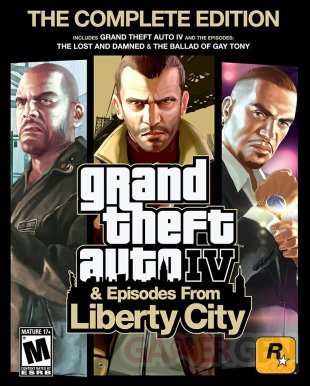 Grand Theft Auto IV Complete Edition art head cover