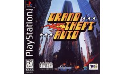 Grand Theft Auto jaquette PS1 30 04 2020
