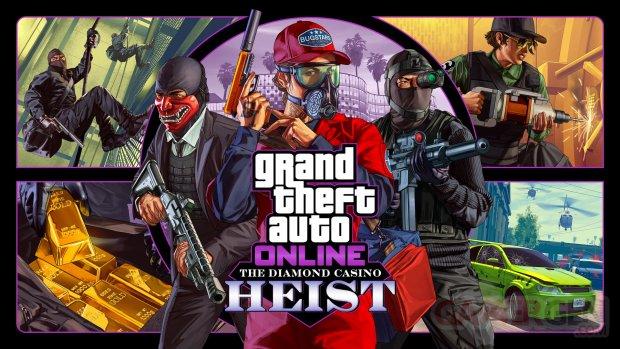 Grand Theft Auto Online Braquage du Diamond Casino 05 12 2019
