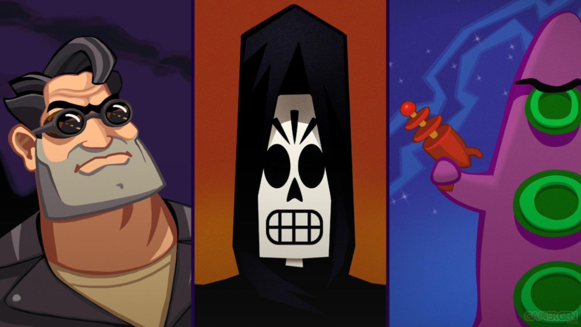 Les remaster de Grim Fandango, Day of the Tentacle et Full Throttle arrivent sur Xbox