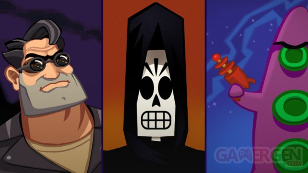 Grim Fandango Remastered Day of the Tentacle Remastered Full Throttle Remastered