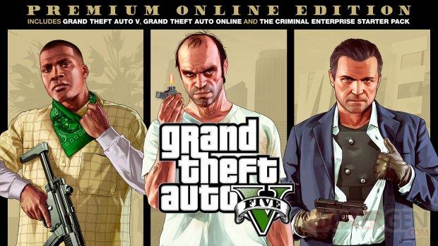 GTA 5 Grand Theft Auto V Premium Online Edition