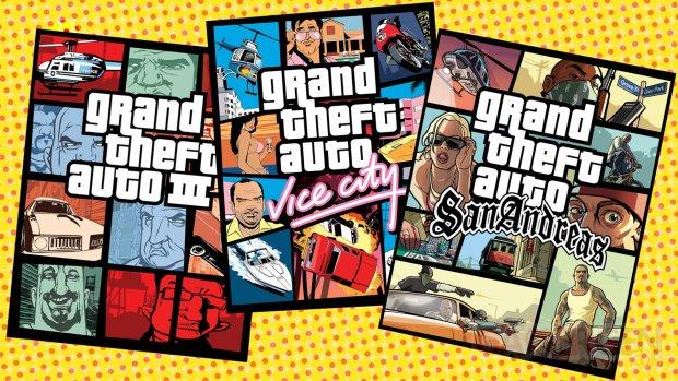 GTA Grand Theft Auto III Vice City San Andreas