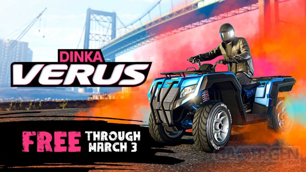 GTA Grand Theft Auto Online 18 02 2021 Dinka Verus