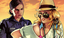 GTA Grand Theft Auto V key art 1